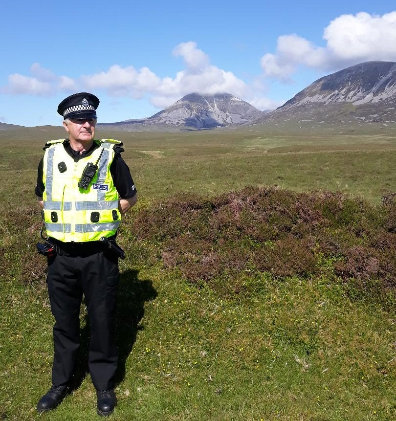 Donald Ewen Darroch has been commended for his contribution to law and order on the Isle of Jura with a MBE. NO_T25_JuraMBE01