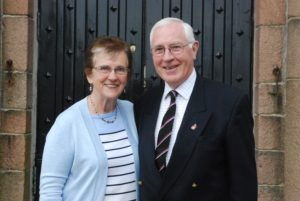 Rev Roderick and Mrs Sue Campbell plan to stay in Argyll