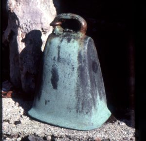 The later bell. Photograph: Iain Thornber