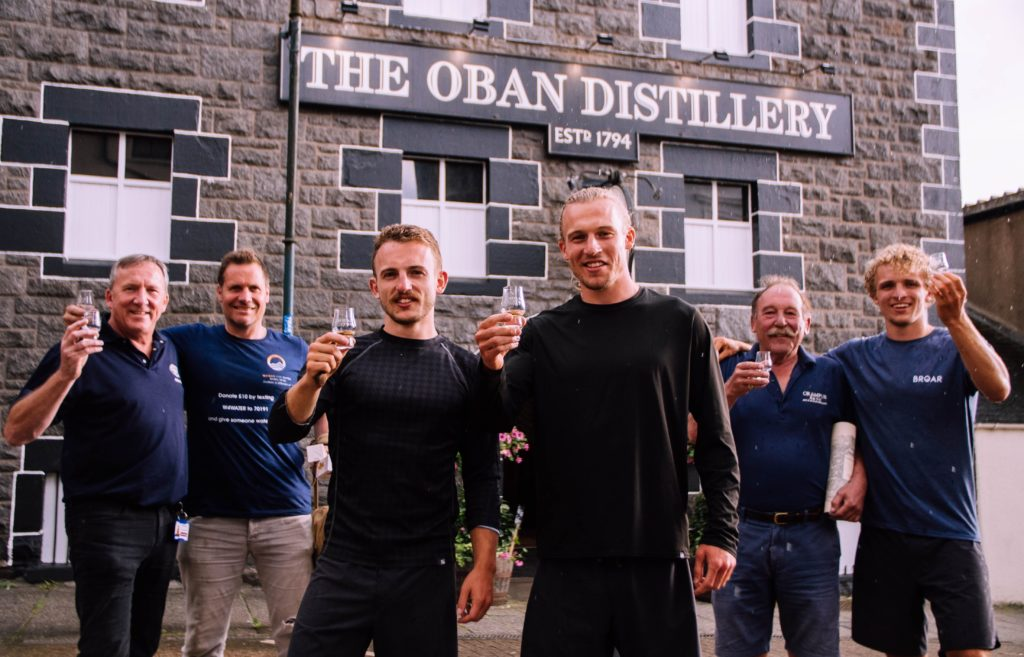 The BROAR brothers visited Oban Distillery last Tuesday evening. NO_T33_Whisky01