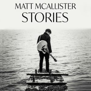 The cover of Matt McAlliter's first album, Stories.