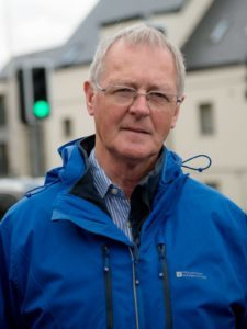 Councillor Allan Henderson chairs the committee which will discuss the new parking policy at a special meeting today (Thursday) in Inverness. NO F43 Allan Henderson