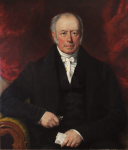 John Sinclair (1770-1863) of Lochaline and Tobermory. Photograph of a family portrait, Iain Thornber