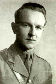 Lt Josef Strankmueller taken shortly before his death. Photograph supplied by Iain Thornber
