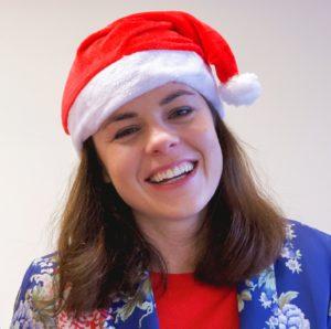 Kate Forbes MSP NO F52 KF festive headshot