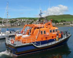 The money could go towards the costs of a major refit for Campbeltown's all-weather lifeboat, the Ernest and Mary Shaw.