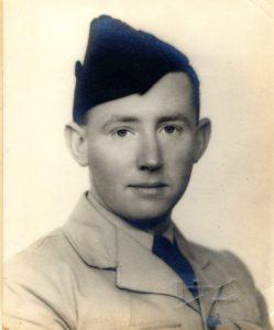 Mr McKinnon's late uncle, Allan McKinnon, was a Lancaster bomber pilot killed during the Second World War. NO F02 Allan Frances McKinnon