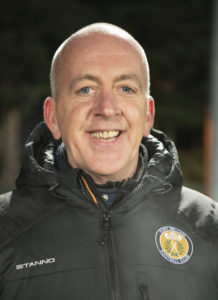 New Fort manager Calum MacLean, said his squad needs to find a striker. Photograph: Iain Ferguson, The Write Image. NO F03 FORT FC CALUM MACLEAN 02