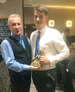 MALLAIG FC Most Improved player of the year — Archie Gillies. NO F04 MALLAIG FC MOST IMPROVED POY