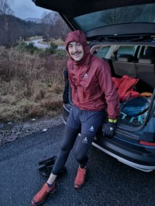 Extreme running involves being prepared to face all weathers. NO F05 Ben 02