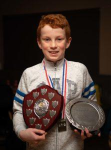 NO F09 Lochaber swim team awards- Calum Stewart. Photograph: Abrightside photography.