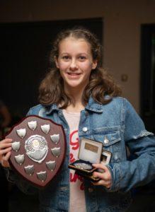NO F09 Lochaber swim team awards- Charleigh Adams. Photograph: Abrightside Photography.