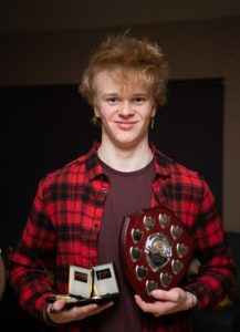 NO F09 Lochaber swim team awards- Indigo Grier. Photograph: Abrightside Photography.