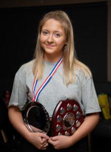 NO F09 Lochaber swim team awards -Jenne MacLean. Photograph: Abrightside Photography.