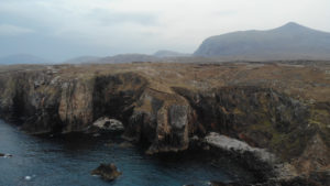 The proposed site at Uig on Lewis. NO F09 St Kilda Centre - proposed site, Uig, Lewis