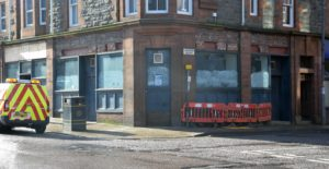 What was formerly McGochan's pub is also set to benefit from the Shopfront Improvement Scheme.