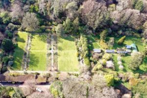 Improving the condition of Achamore Gardens' walled garden is one of Bryony's top priorities.