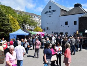 Crowds flocked to Glen Scotia Distillery during last year's Campbeltown Malts Festival.