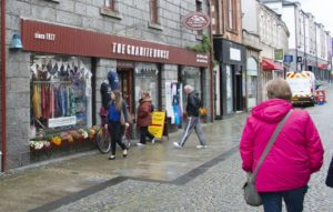 Shoppers were pleased to see the popular Granite House was open again. Photograph: Iain Ferguson, alba.photos NO-F27-Reopening-Granite-House-scaled.jpg