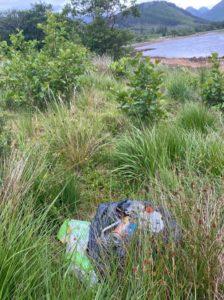 Glen Etive recently. NO F29 rubbish in Glen Etive