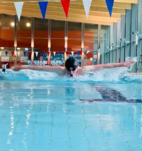 A lane swimming service has been introduced for competent swimmers at Aqualibrium.