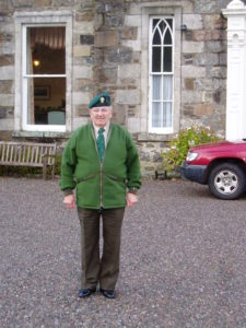 Syd Shadbolt pictured at Achnacarry in 2006. NO-F41-Syd-Shadbolt-at-Achnacarry-Castle.jpg