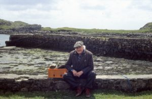 George Wyllie's 'out and about' approach to art took him across Scotland and beyond. Photograph: George Wyllie Estate.