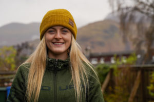 Mountain biker Mikayla Parton, pictured, winner of this year's Scottish Youth Award for Excellence in Mountain Culture, will be another of those taking part in the programme. Photograph: Dave MacLeod. NO_F09_Mikayla Parton Photo by Dave MacLeod