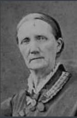 Dicinda Phillips McTaggart, wife of Hugh McTaggart, and Jim's great-great-grandmother.