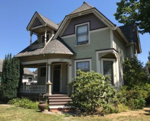 Edward McTaggart's home in Washington.