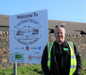 Eric Spence, manager of South Kintyre Development Trust.