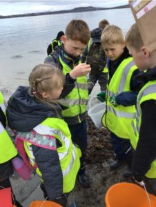 The children are required to discover, explore, conserve and share as they take part in the John Muir Award initiative.