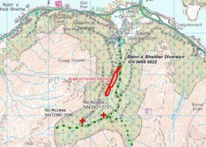 NO F24 Ballachulish map