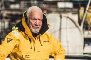 Clipper Race founder, Sir Robin Knox-Johnston, who says the skills and confidence built during sailing can be transferred to other aspects of life. NO F25 Sir Robin Knox-Johnston (1)