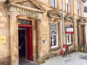 The West Highland Museum in Fort William which celebrates its 100th anniversary next year. NO F26 WHM 01