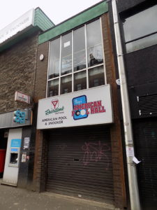 The American Pool Hall at Shawlands Cross was closed during lockdown.