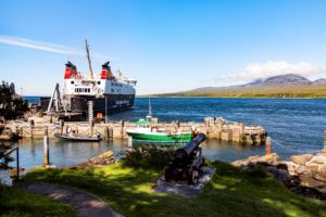 The new ferry will provide additional capacity on the Islay route.