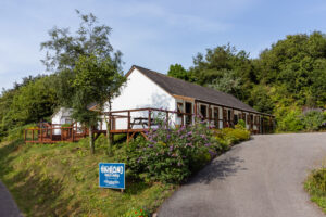 Highland Basecamp's bunkhouse at Lochaline. Photograph: Highland Basecamp. NO F33 Highland Basecamp Lochaline Building_07