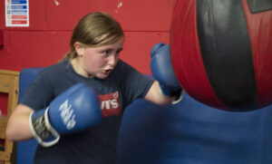 S1 pupil Keira Welch has been a regular at the club for many years. Photograph: Iain Ferguson, alba.photos NO F36 Boxing Day 02
