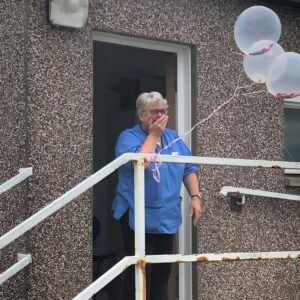 Anne Shaw's retirement surprise was an emotional event.