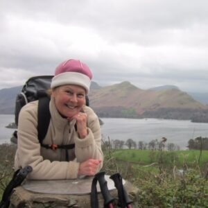 Kate Riley, pictured, taught in Canna's small school for six years. NO F37 Kate Riley