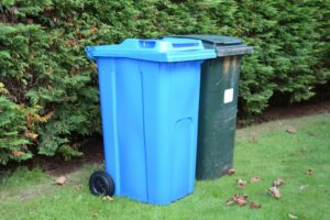 Blue recycling bins are being delivered to Kintyre residents.