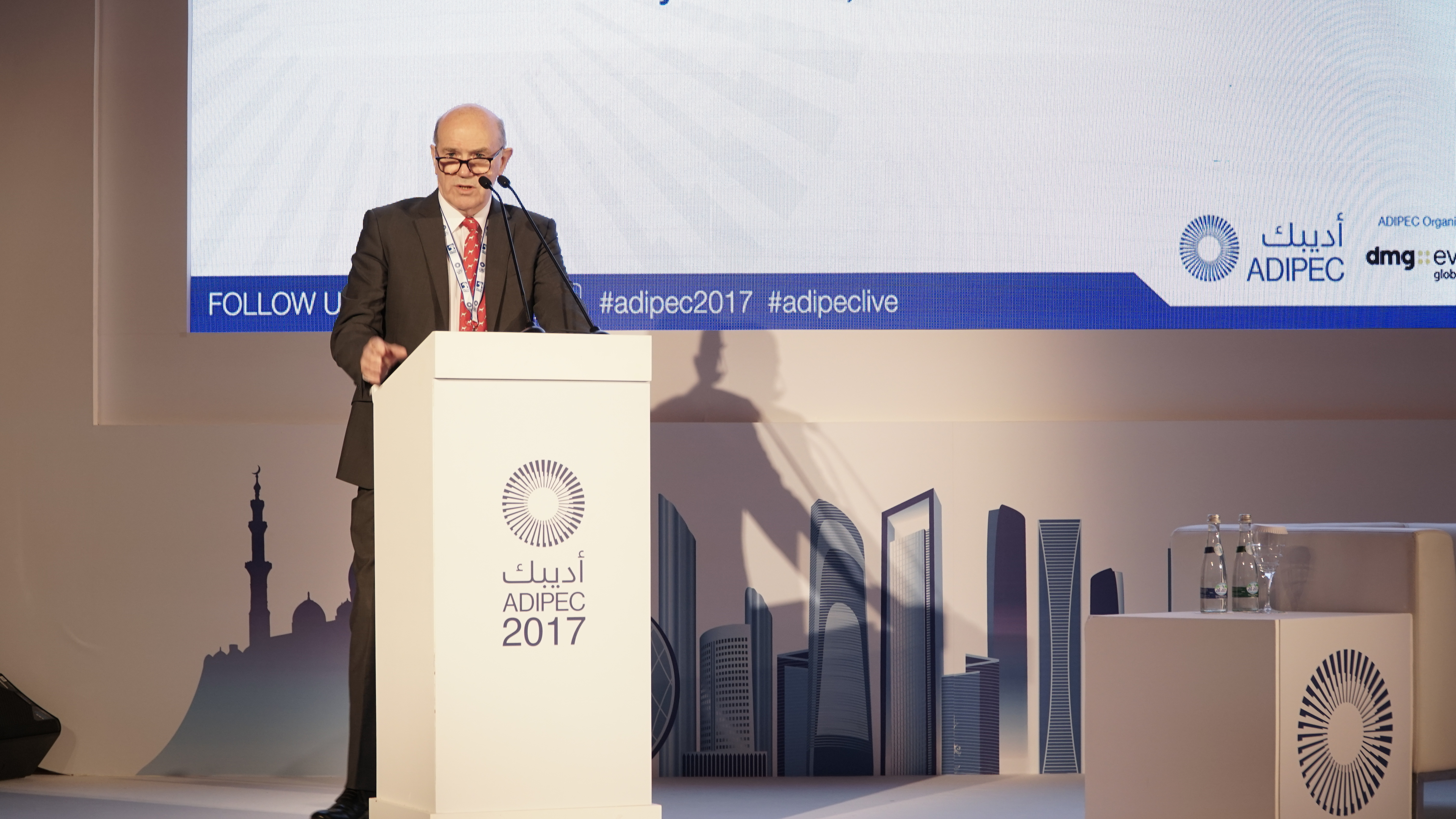Adipec 2017: Oil sector's 'ingenuity' can protect it from cyber threat, ex-NI police chief says